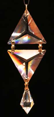 Feng Shui Triangle Prism